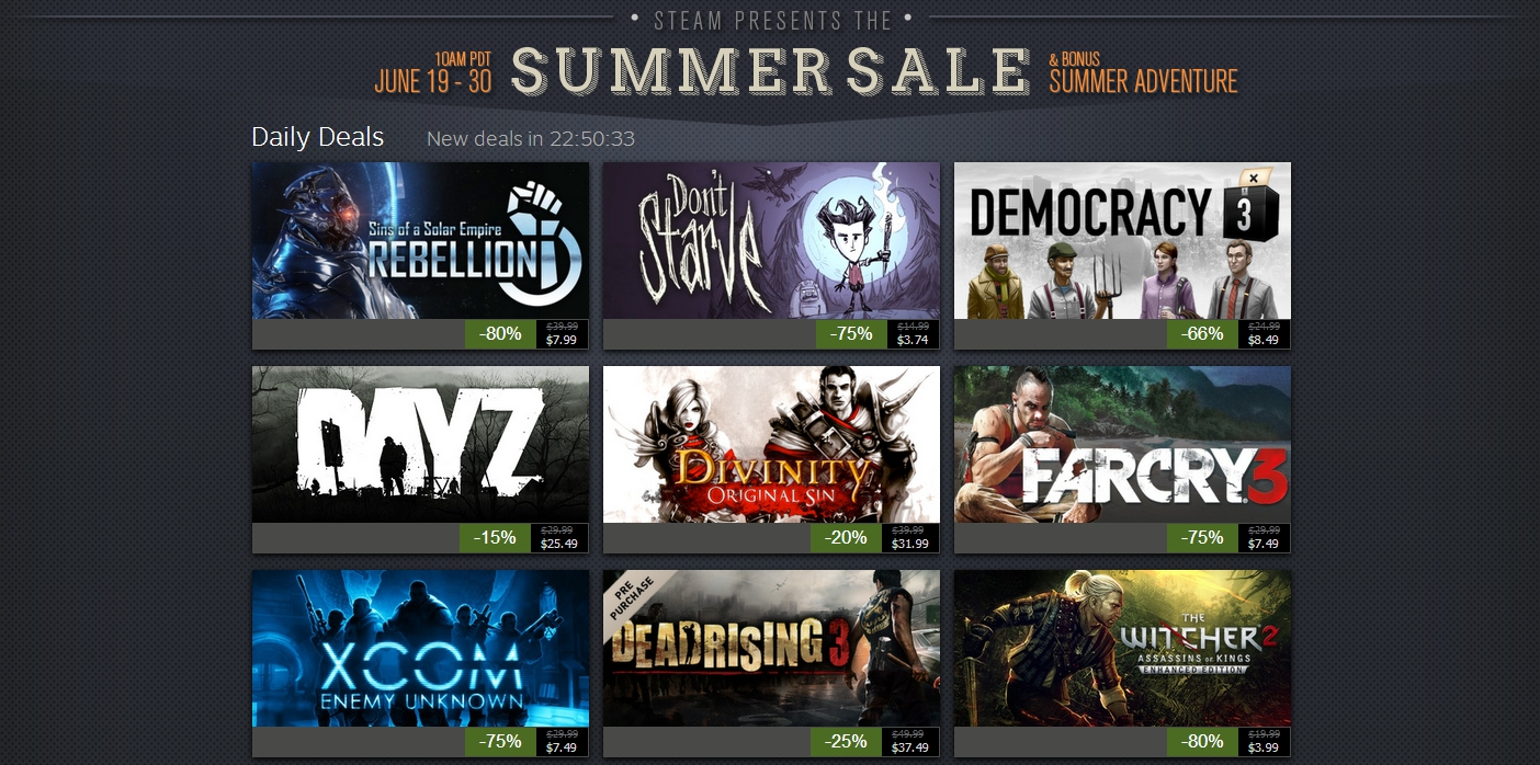 Steam Summer Sale 2014: Huge discounts on great PC games | BGR