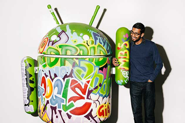 Google CEO Sundar Pichai Hacked
