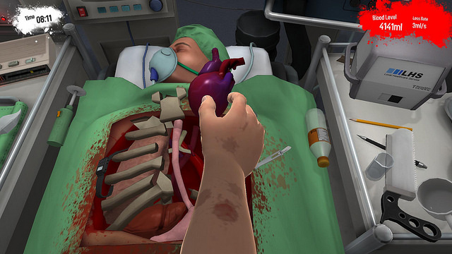 Surgeon Simulator PS4 Announced