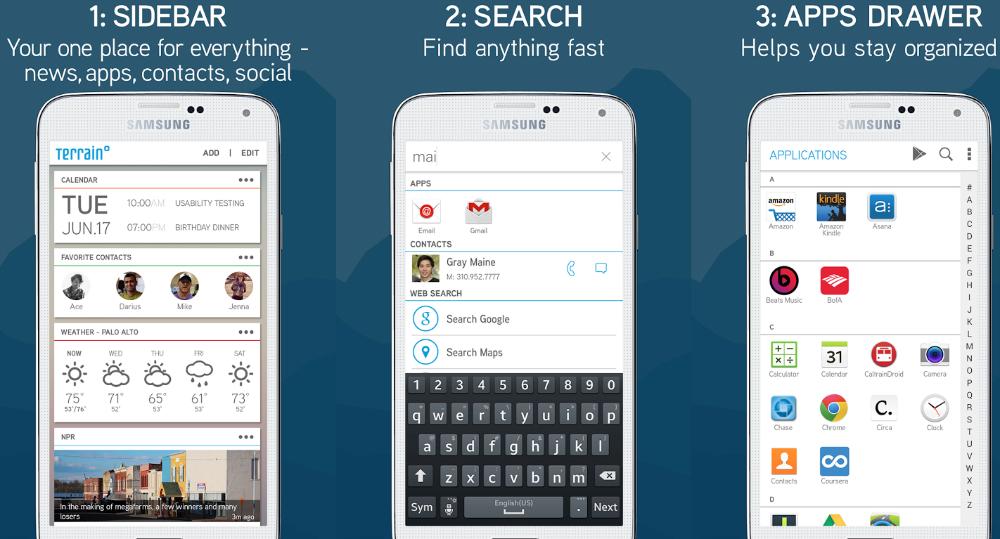 Samsung Terrain Home Google Now