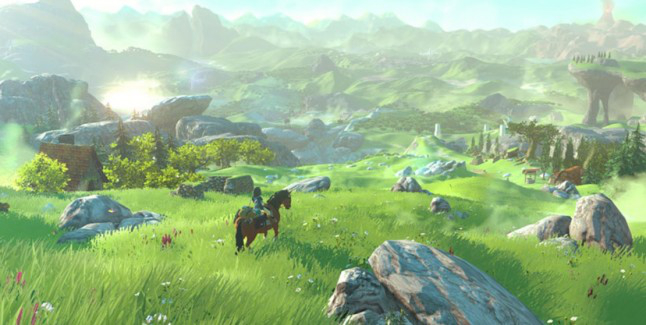 The Leged of Zelda Wii U Gameplay Trailer