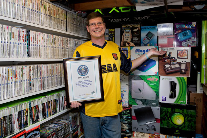 World's Largest Video Game Collection Sold