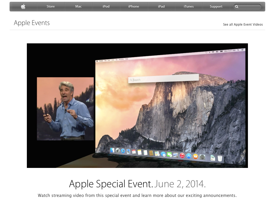 WWDC 2014 Archived Video