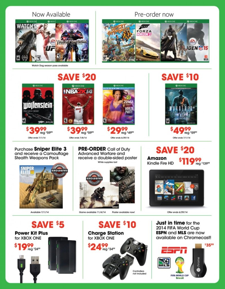 Xbox One Sale Event 2