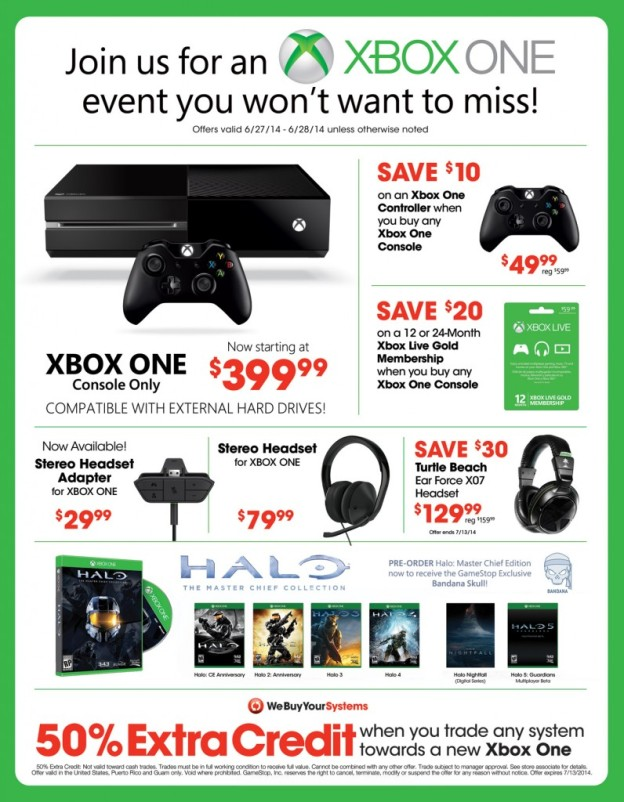 Xbox One Sale Event
