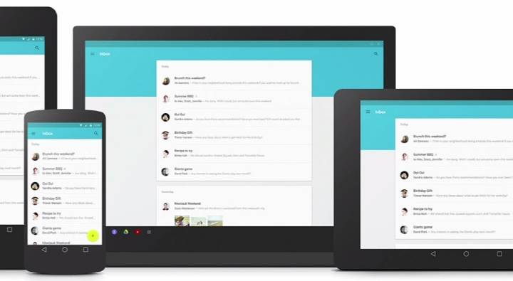 Android L Material Design Apps
