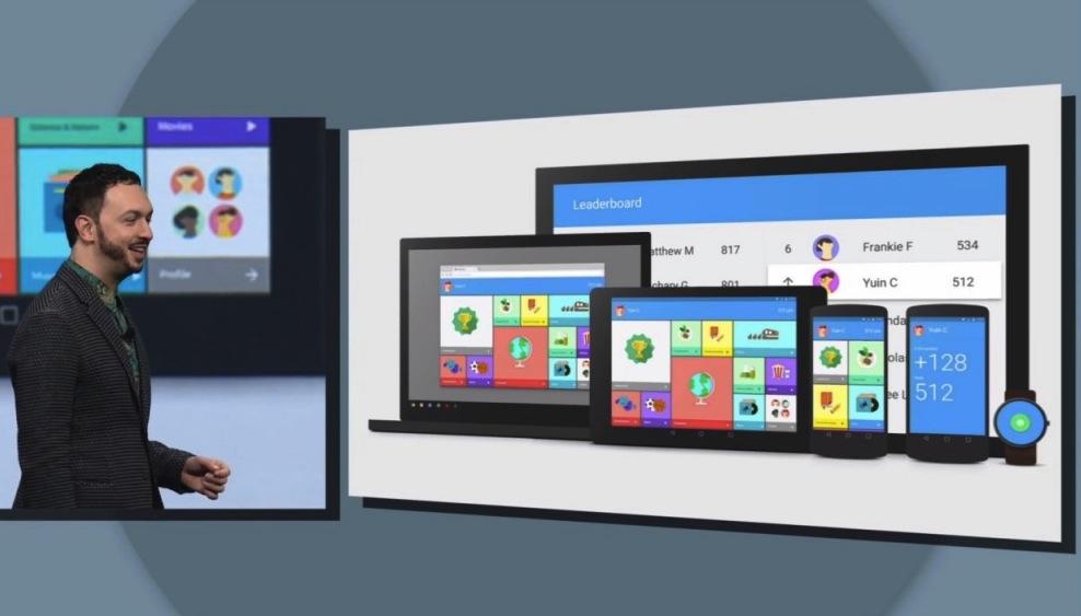 Google Play Store: Material Design