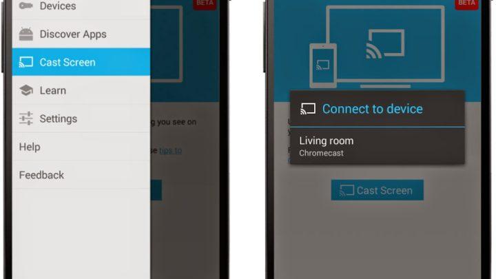 Chromecast Cast Screen Root Update