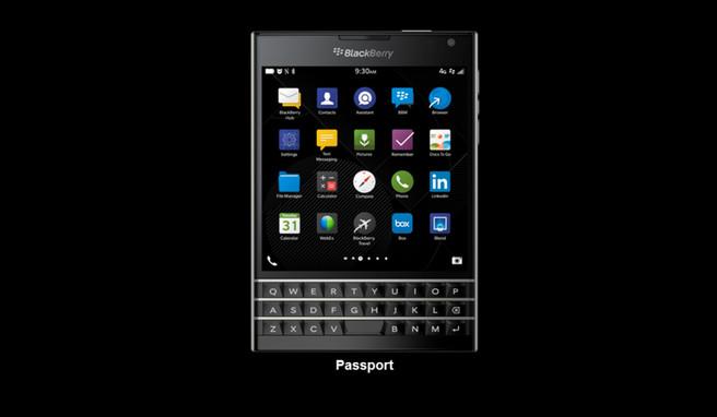 BlackBerry Passport Design Explained