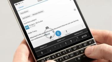 BlackBerry Passport Specs Leak