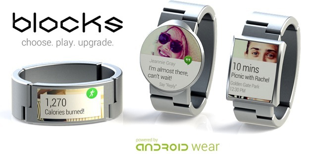Blocks Modular Smartwatch Hardware