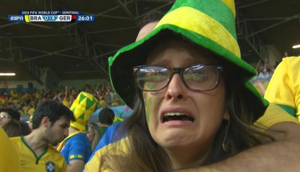 Brazil vs Germany Twitter Record