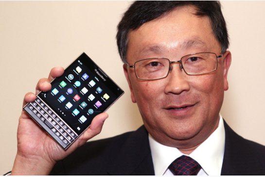 BlackBerry CEO Chen Interview Smartphones