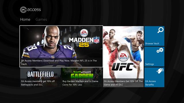 EA Access Subscription Service