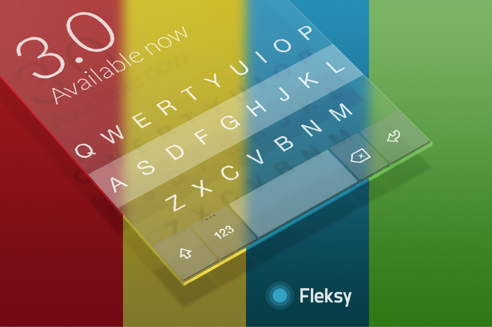 Fleksy Keyboard App Arabic and Chinese