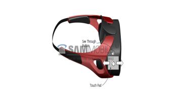 Samsung Gear VR Headset Leaked Image