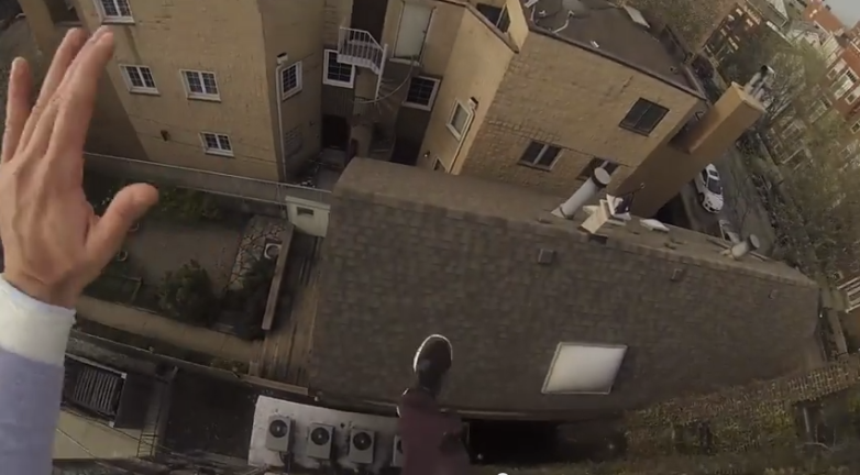 Best GoPro Videos Roof Jump