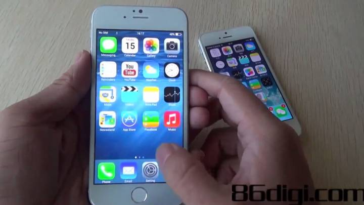 iPhone 6 Hands-on Video