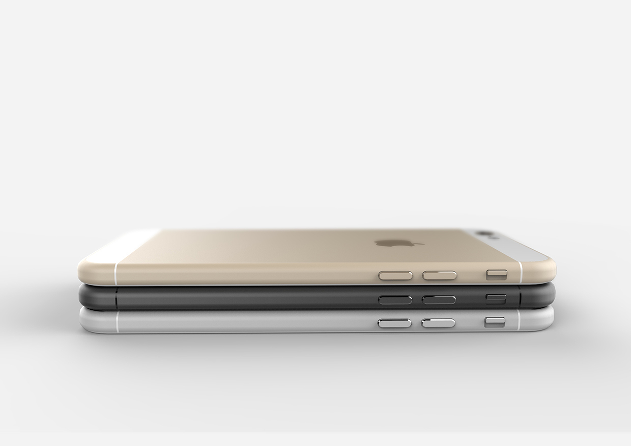 iPhone 6 Images Space Gray Gold