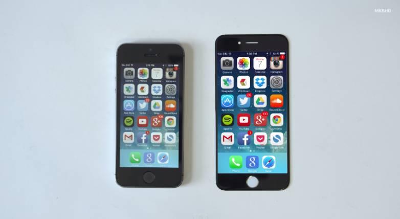 iPhone 6 Sapphire Displays