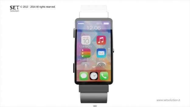 iWatch iOS 8 Concept Video