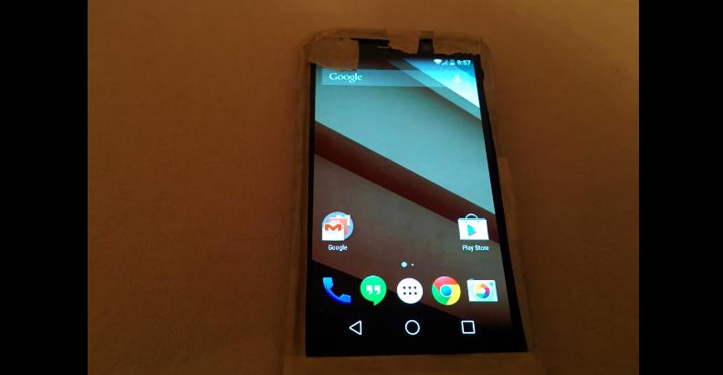 Motorola Android L Smartphone