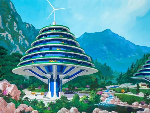 North-Korea-architecture