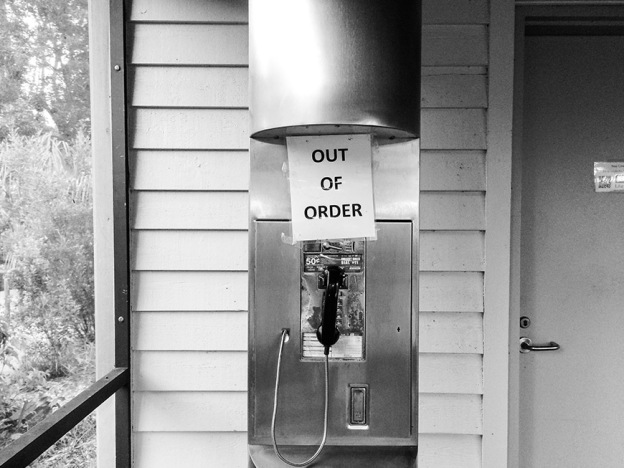 Phone Booth Out of Order