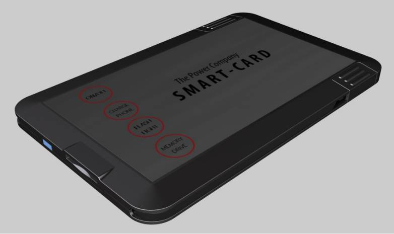 Smart Card Battery and Hard Drive