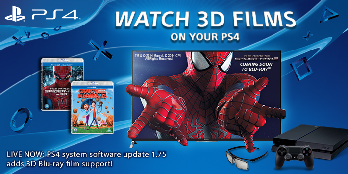 PS4 vs Xbox One: 3D Blu-ray Support