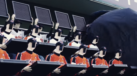 South Korean Baseball Robot Fans