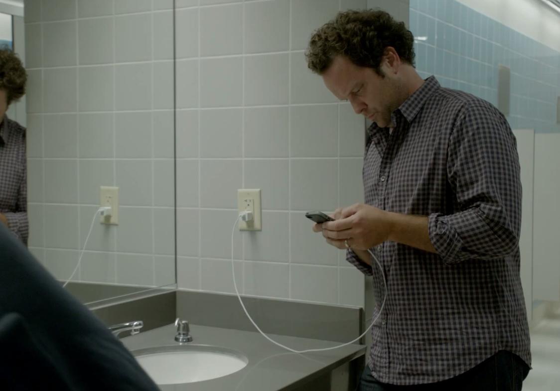 Samsung Wall Huggers Ad iPhone
