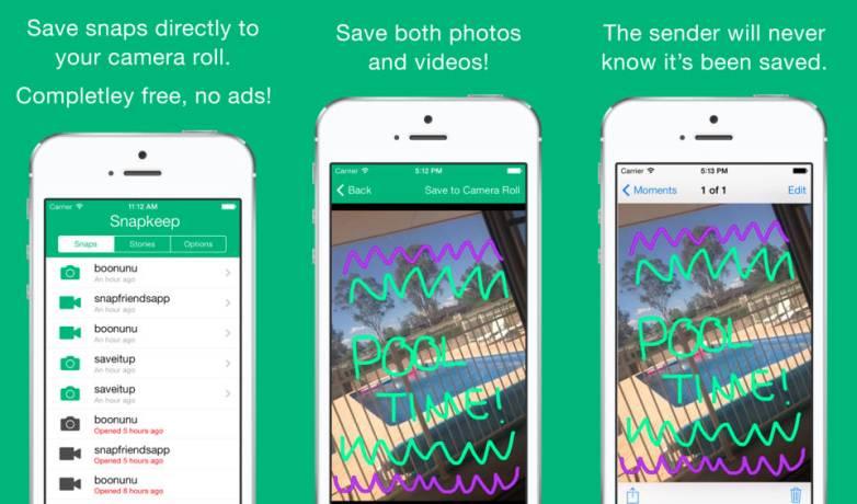 Snapkeep Saves Snapchat Photos and Videos
