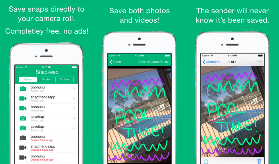 Snapkeep Saves Snapchat Photos and Videos