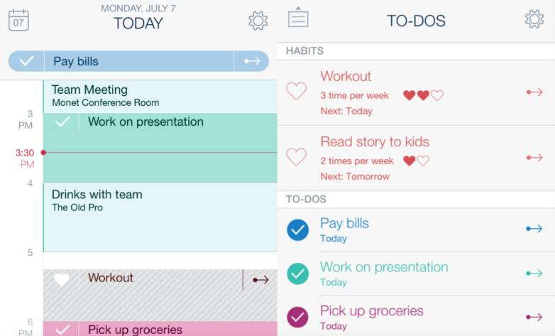 Timeful Time Assistant App for iPhone