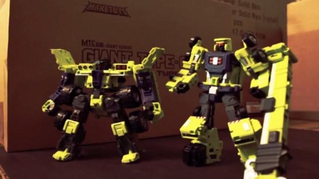 Transformers Stop Motion Fan Video