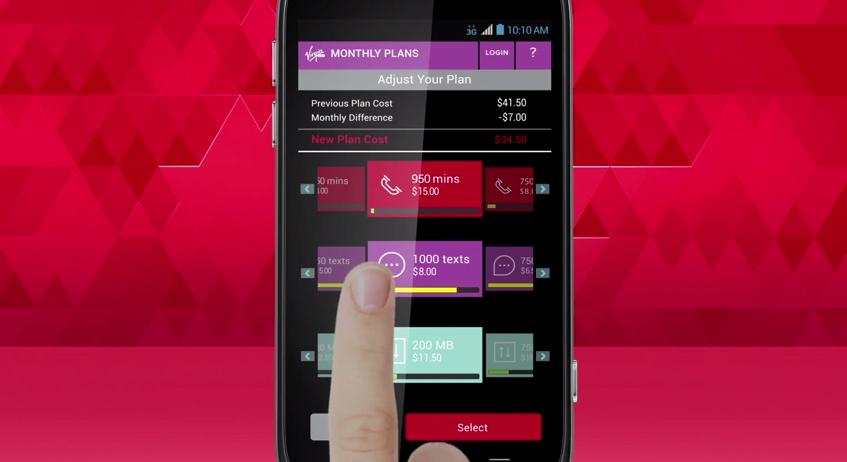 Virgin Mobile Custom Prepaid Plan