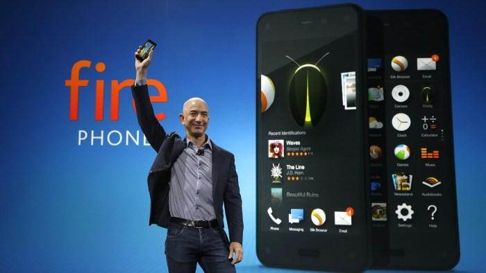 Amazon Fire Phone Sales