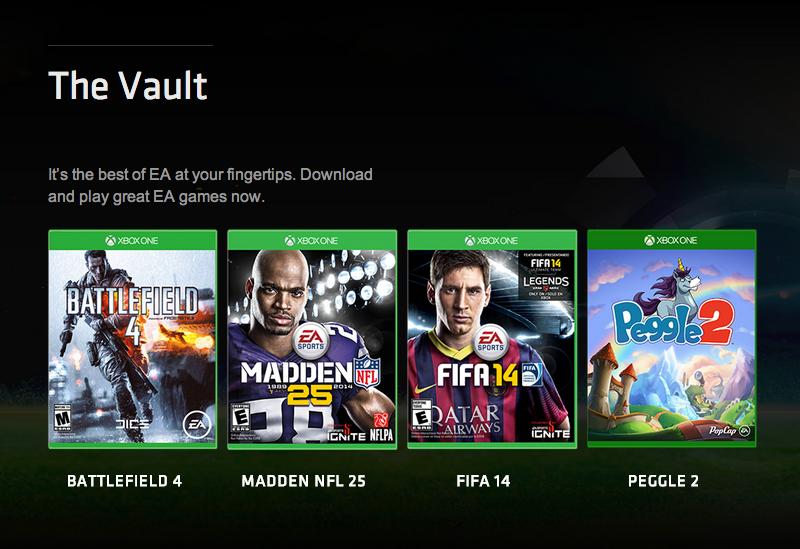 EA Access Xbox One Subscription