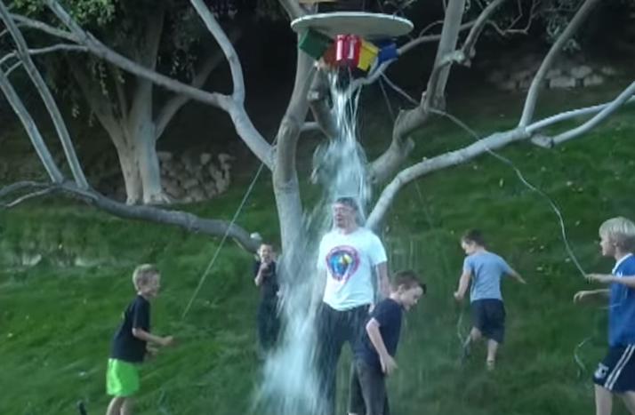 Elon Musk Ice Bucket Challenge