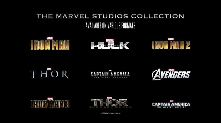 list of every marvel movie
