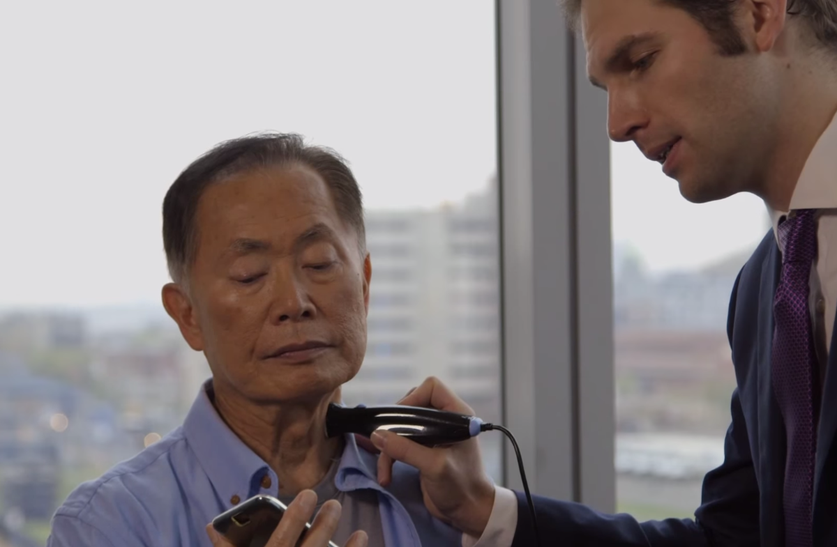 George Takei Smartphone Physical Video