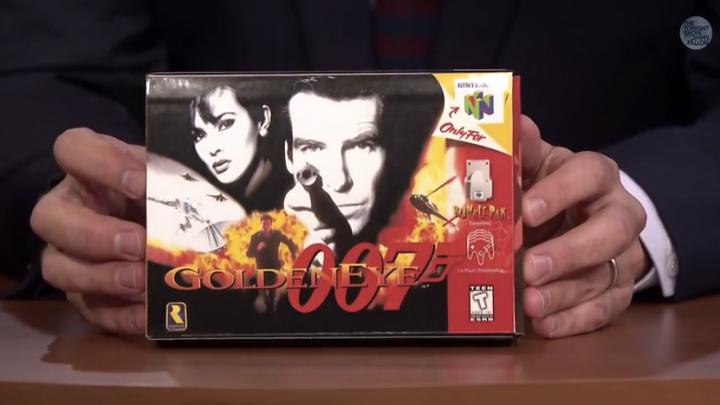 James Bond Plays Goldeneye