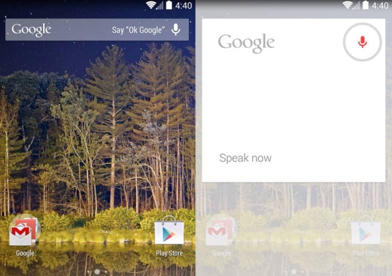 Google Now Launcher Support