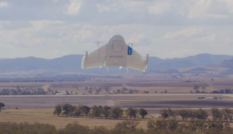 Google Project Wing Same-Day Delivery