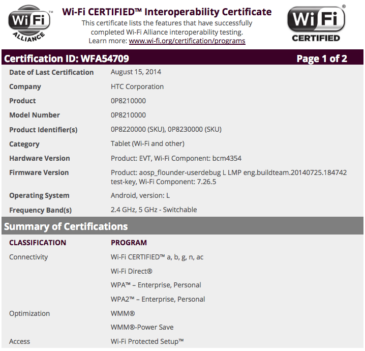 htc-nexus-9-flounder-wi-fi-alliance-certification
