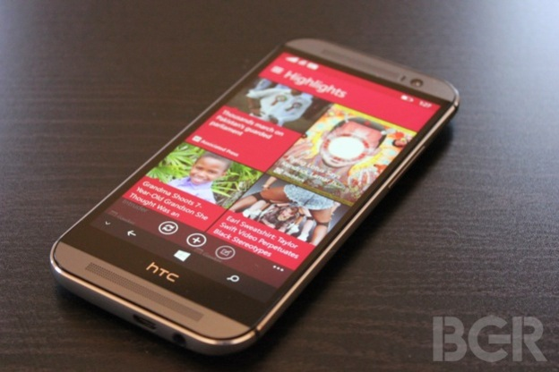 HTC One M8 Windows Phone 2