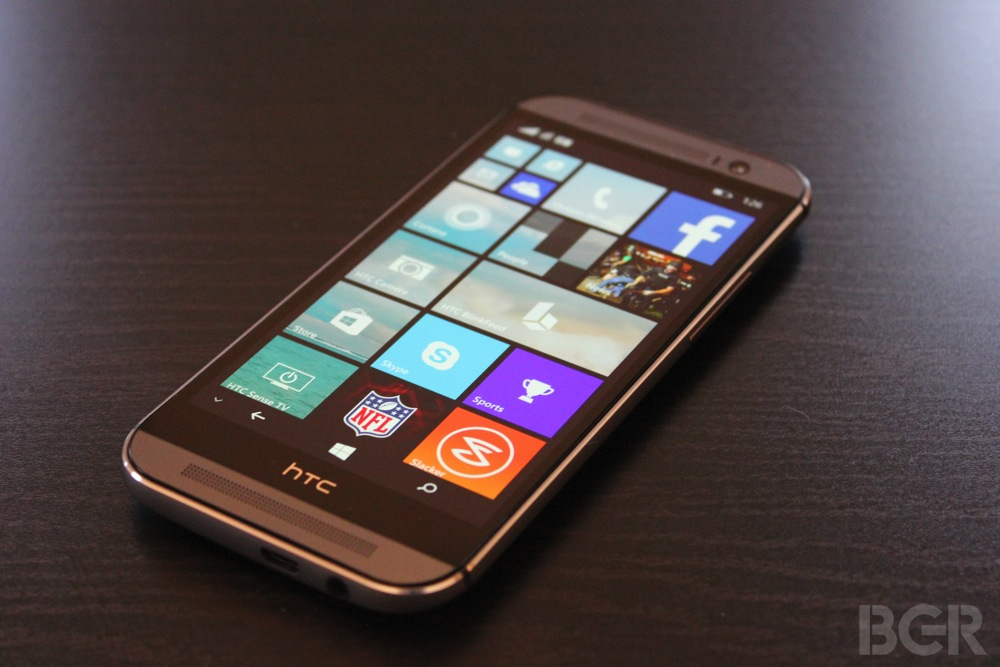 HTC One (M8) for Windows Hands-On Preview