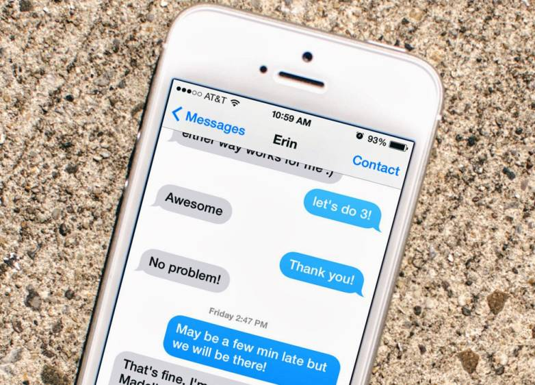 Hilarious iPhone iMessage Break-Up Text