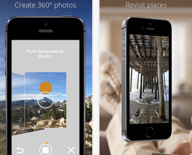 Google Photo Sphere iOS